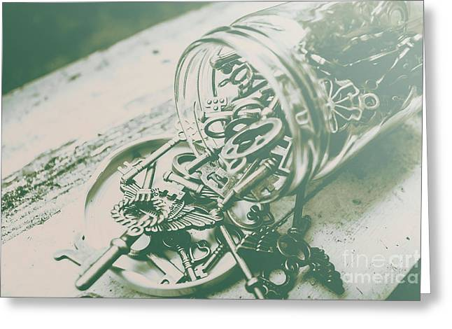 Escapade Greeting Card by Jorgo Photography - Wall Art Gallery