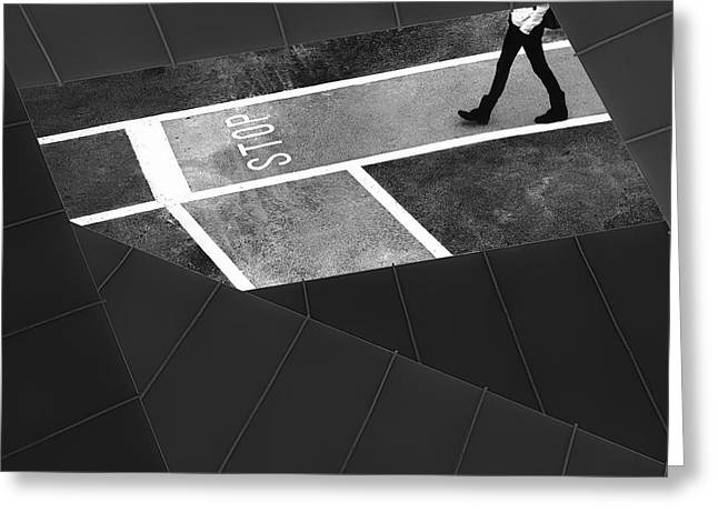 Escape Plan Greeting Card by Paulo Abrantes