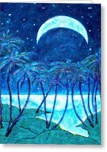 Escapism Landscape Greeting Card