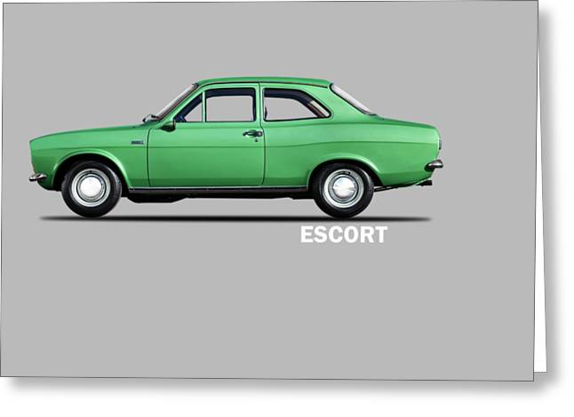 Escort Mark 1 1968 Greeting Card