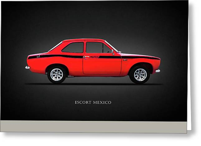 Escort Mexico Mk1 Greeting Card by Mark Rogan