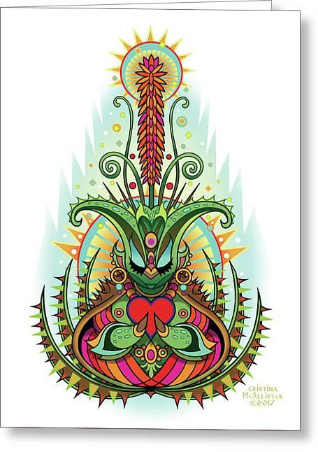 Espiritu 5  Greeting Card