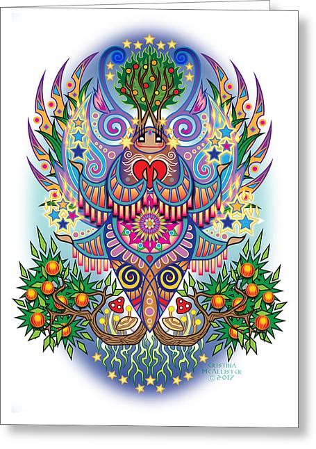 Espiritu - Mu Greeting Card