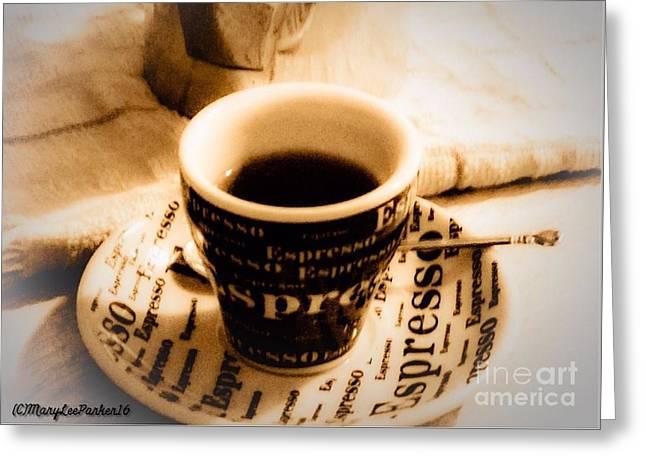 Espresso Anyone Greeting Card