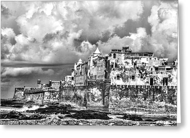 Essaouira Morocco  Greeting Card by Chuck Kuhn