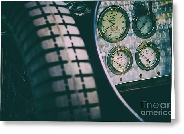 Essence Of Bugatti Greeting Card by Tim Gainey