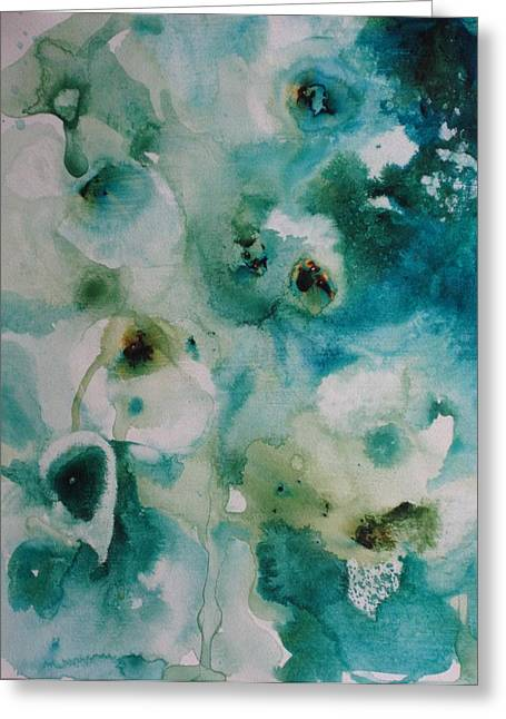 Essence Of Flower Greeting Card by Elizabeth Carr
