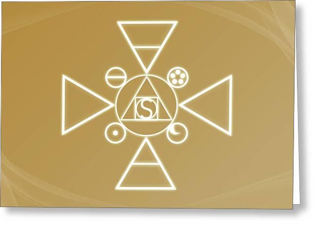 Essence Of The Spirit Greeting Card