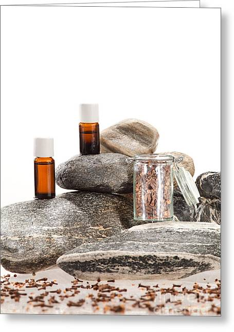 Essential Oil From Clove Greeting Card