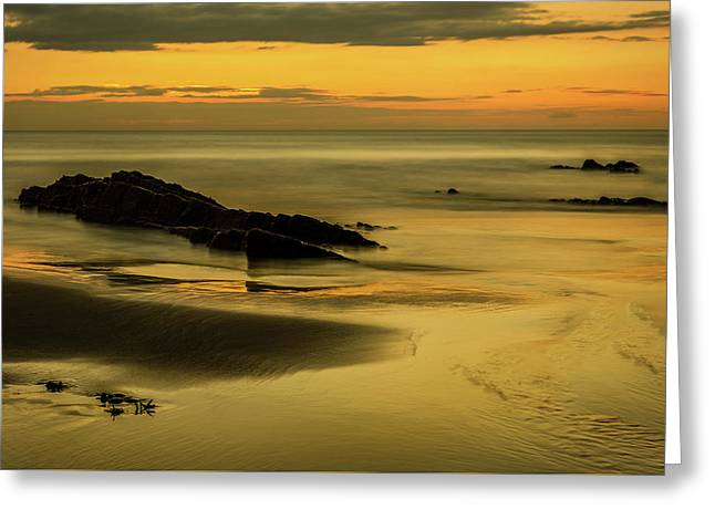 Greeting Card featuring the photograph Essentially Tranquil by Nick Bywater