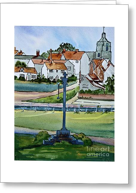 Essex Village In England Greeting Card by Dianne Green