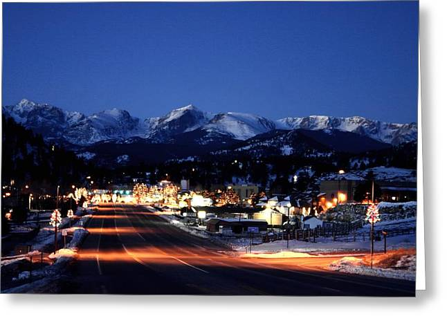 Estes At Dawn Greeting Card
