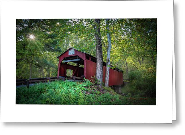 Esther Furnace Bridge Greeting Card by Marvin Spates