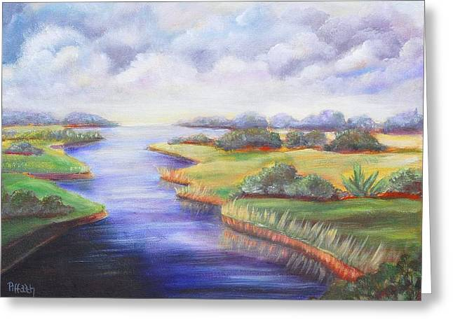 Estuary Greeting Card
