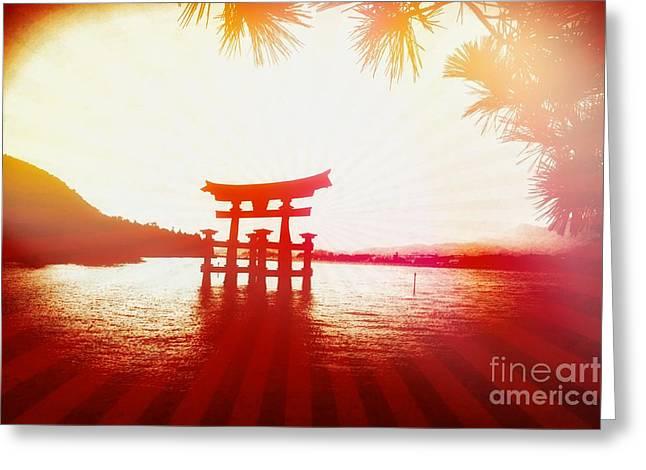 Eternal Japan Greeting Card