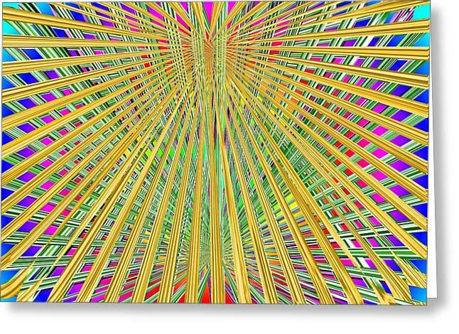 Loom Digital Art Greeting Cards - Eternal Loom Greeting Card by Tim Allen