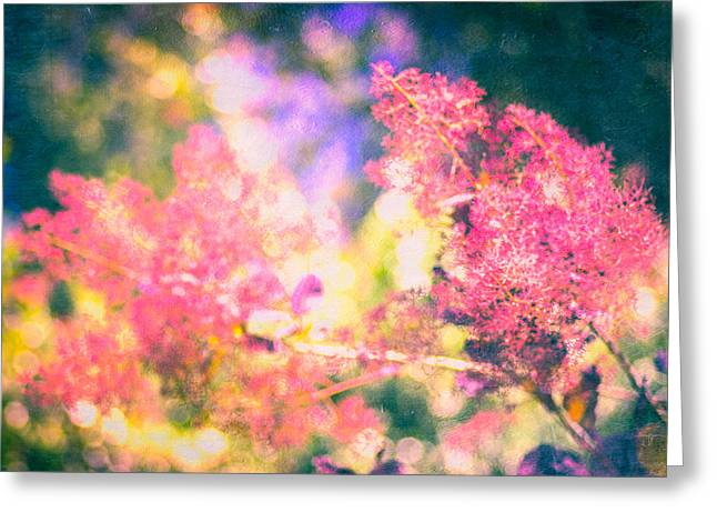 Ethereal Bloom  Greeting Card