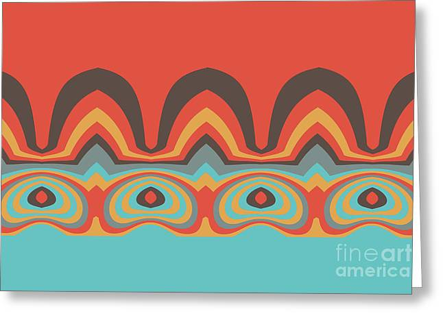 Ethnic Pattern Greeting Card