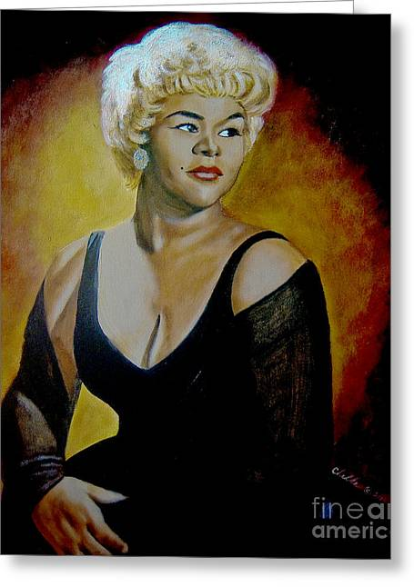Etta James Greeting Card