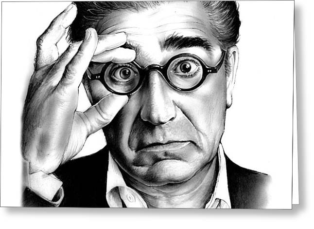 Eugene Levy Greeting Card