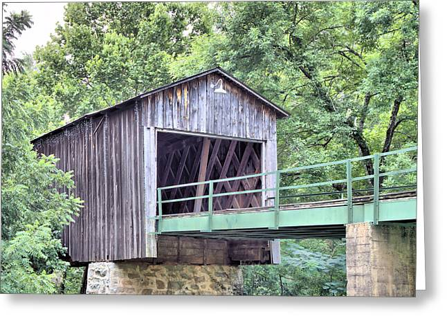 Euharlee Creek Covered Bridge Greeting Card