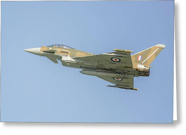 Euro Fighter Greeting Card by Roy McPeak