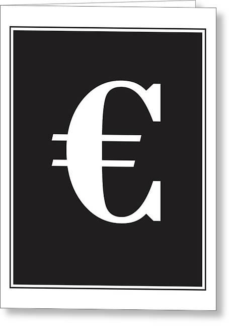 Euro Wall Decor Print Greeting Card
