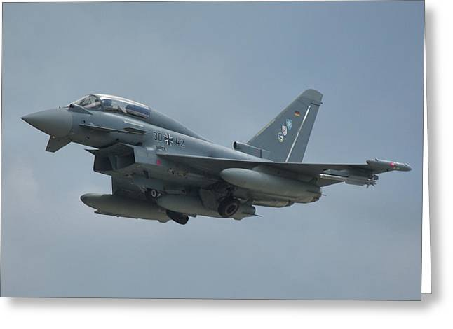 Eurofighter Ef2000 Greeting Card