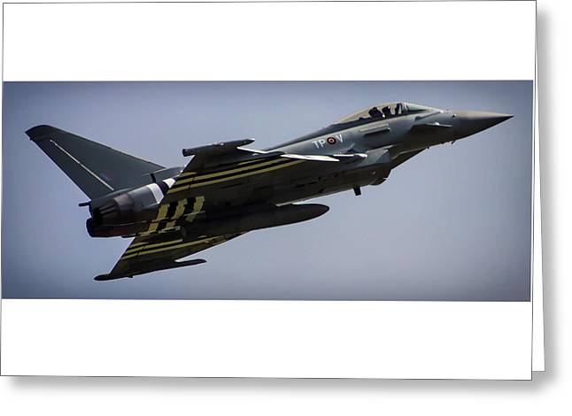 Eurofighter Greeting Card by Martin Newman