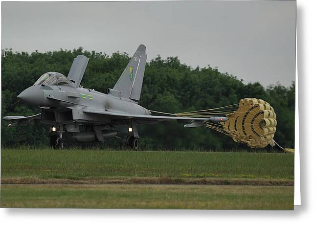 Eurofighter Typhoon Fgr4 Greeting Card