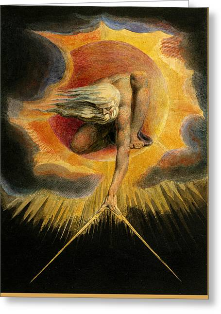 Europe A Prophecy Greeting Card by William Blake
