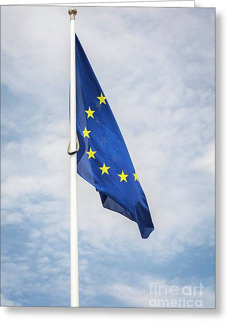 European Union Flag Greeting Card