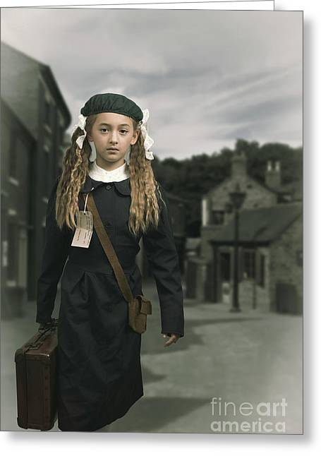 Evacuee Greeting Card
