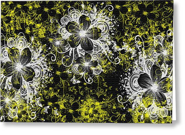 Eve Series 3 Greeting Card by Evelyn Patrick