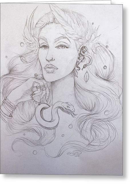 Eve Sketch Greeting Card