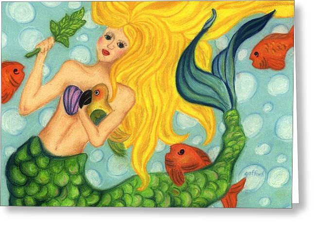 Eve The Mermaid Greeting Card