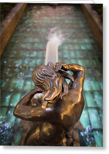 Greeting Card featuring the photograph Even Statutes Spit by Lora Lee Chapman