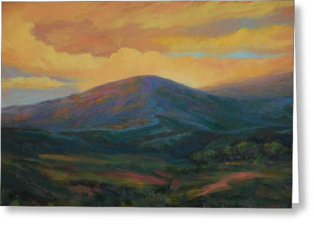 Evening Ablaze Greeting Card by Gary Gore