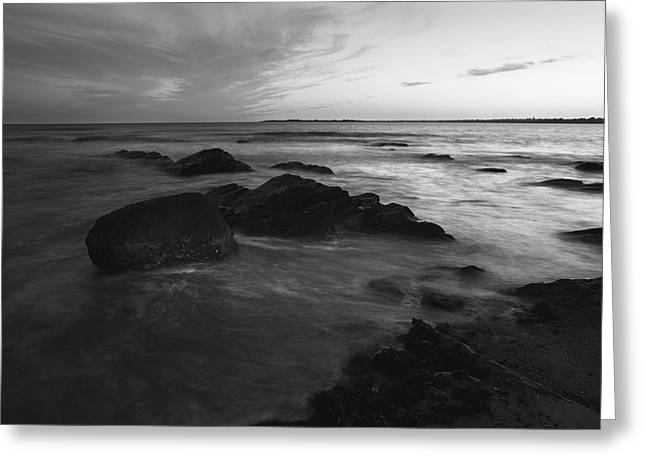 Evening Along The Atlantic Coast Greeting Card