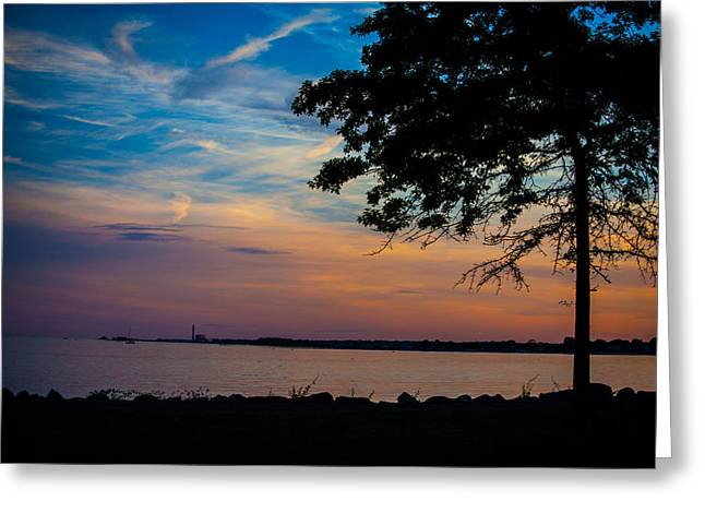 Evening Approaches Greeting Card by Karol Livote