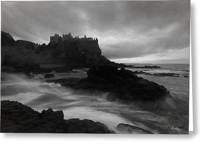 Evening At Dunluce Greeting Card by Roy  McPeak