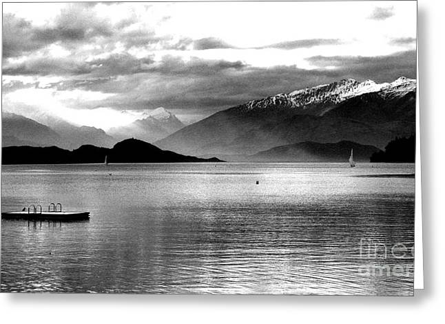 Evening At Wanaka Greeting Card