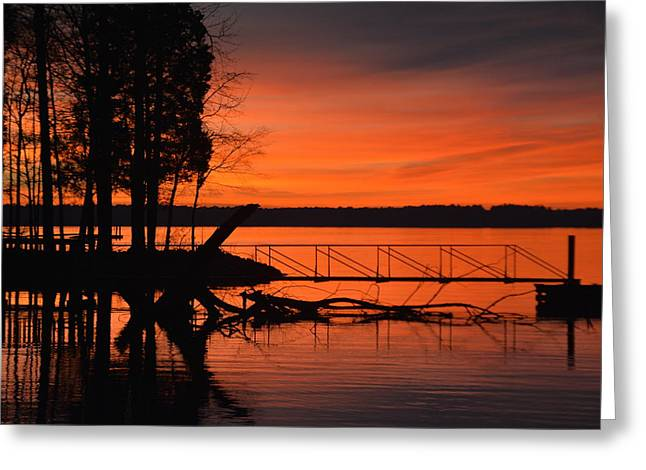 Evening Blessing Greeting Card by Lisa Wooten