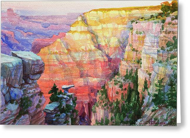 Evening Colors  Greeting Card