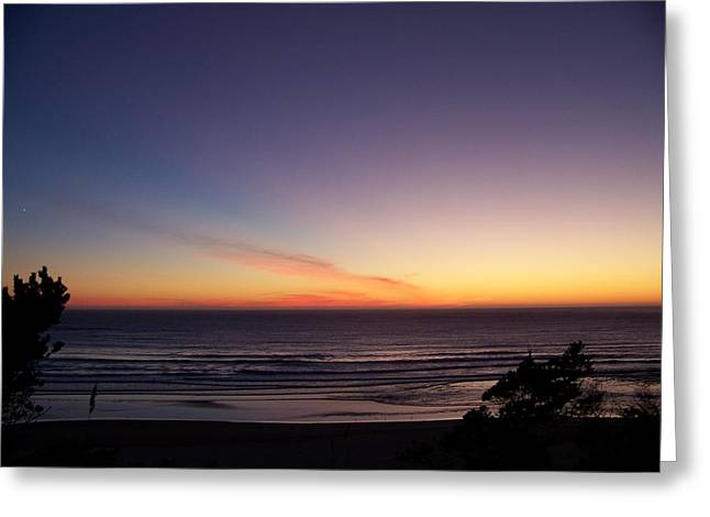 Greeting Card featuring the photograph Evening Comes by Angi Parks