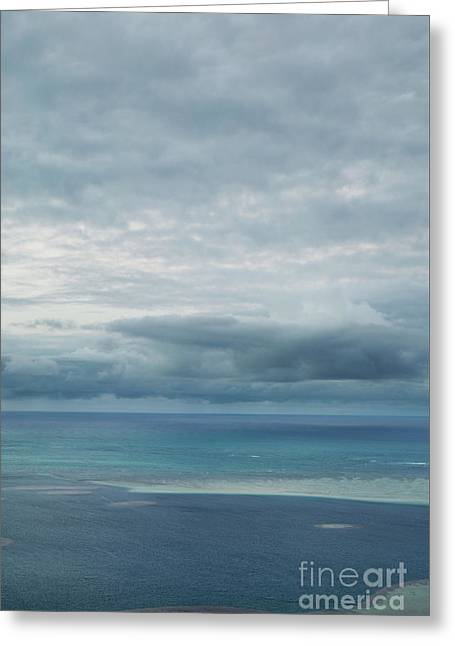 Evening Horizon Kaneohe Bay Greeting Card
