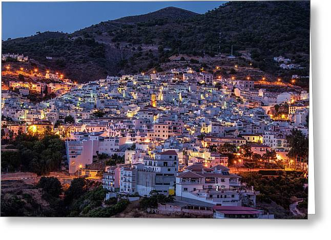 Evening In Competa Greeting Card