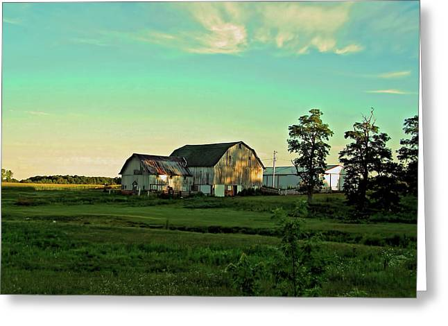 Evening In Raintree County Greeting Card by Mark Orr