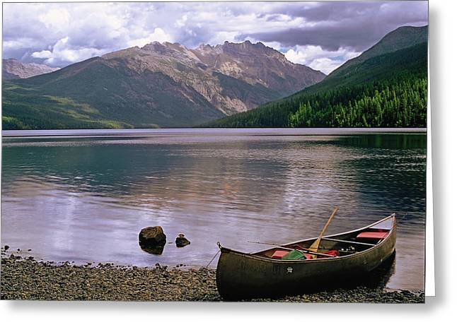 Evening On Kintla Lake Greeting Card