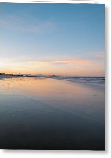 Evening Reflection Greeting Card by Martin Capek
